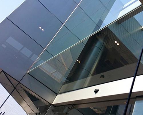 幕墙镀膜钢化玻璃